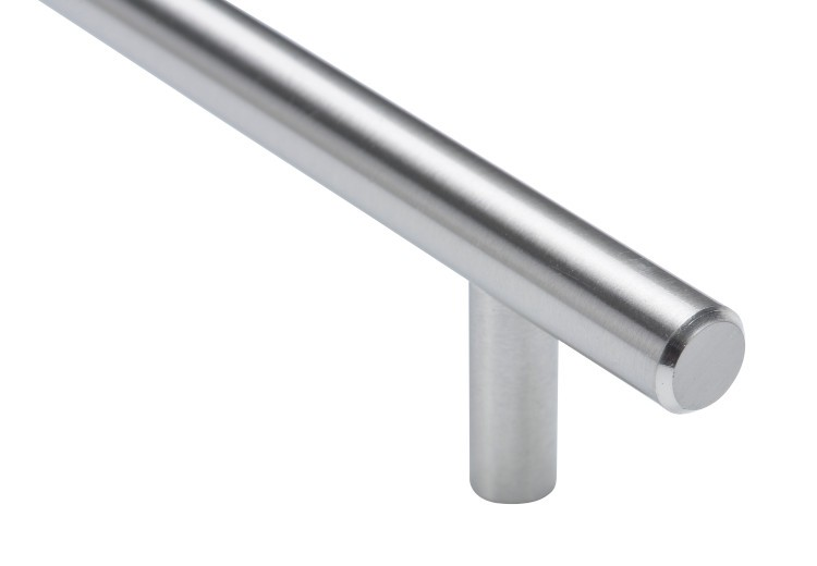 Bar Pull - 128mm Centers - Stainless Steel