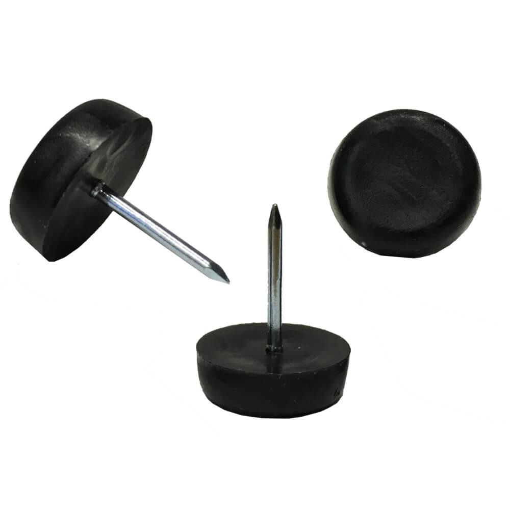 """3/4"""" Dia. Nylon Glides - Black - 25 Pack"""