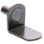 """5mm Bronze """"Bracket"""" Shelf Support Pegs - 25 Pack"""