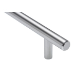 Bar Pull - 96mm Centers - Stainless Steel