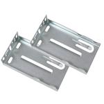 Rear Mounting Brackets for Ball Bearing Slides - 1 Pair