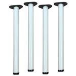 "2 1/4"" Table Legs - Set of 4 - White"
